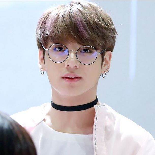 Sunglasses Jungkook Bts Round Glasses Wheretoget