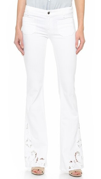 jeans flare jeans flare white