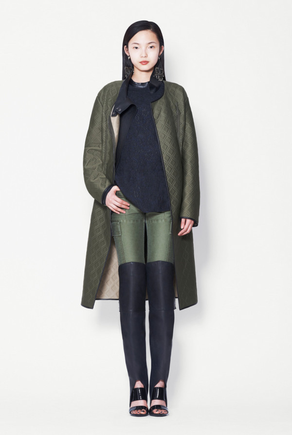 coat fashion lookbook phillip lim shoes pants