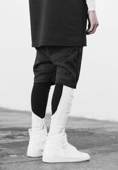 sportswear,high top sneakers,menswear,white sneakers,shoes,mens sneakers,urban menswear,maison martin margiela