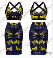 tank top,crop tops,multicolor,skirt,jupe taille haute,dress,ensemble