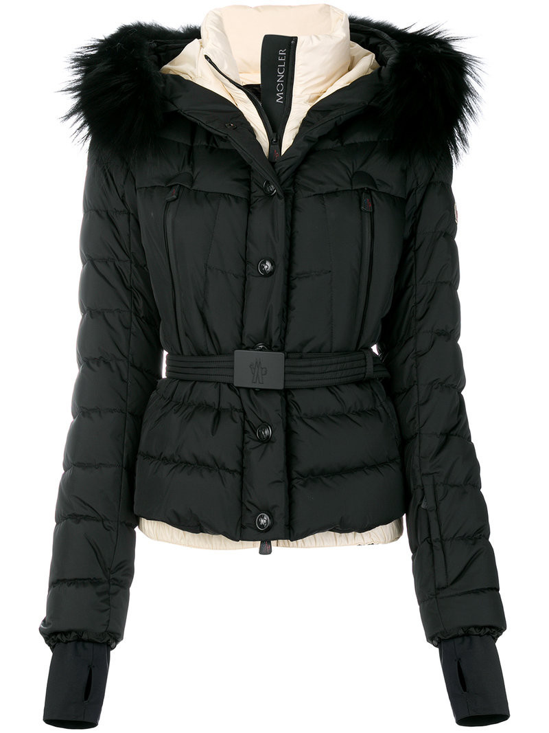 a0a11ce207 Moncler Grenoble - Bruche Belted Two-tone Quilted Shell Ski Jacket ...