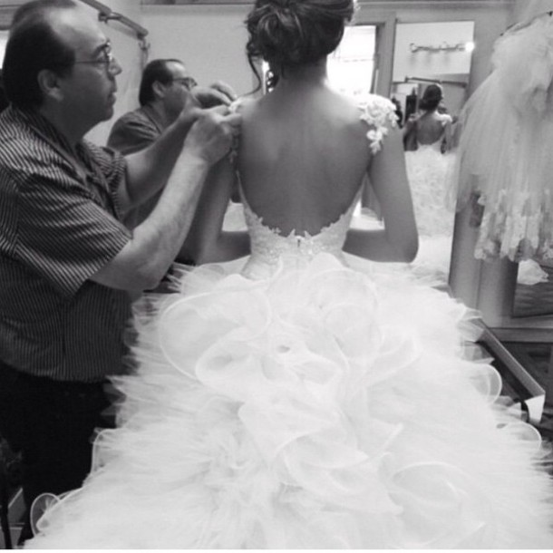 Dress: couture man, wedding store, beautiful princess dress, wedding ...
