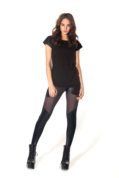Spartans Sheer Leggings › Black Milk Clothing