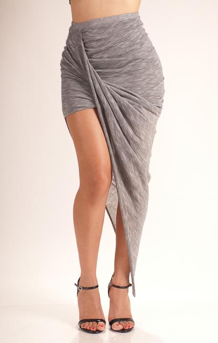 Scrunch me up maxi skirt