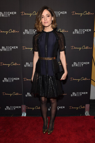 dress rose byrne belt