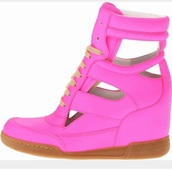 shoes,pink sneakers,pink