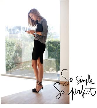garance dore skirt jewels shirt shoes