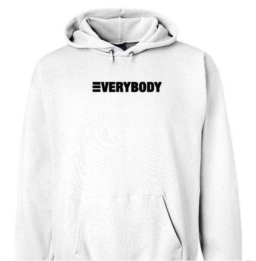 Everybody digital album hoodie gift shirt sweater custom clothing Unisex