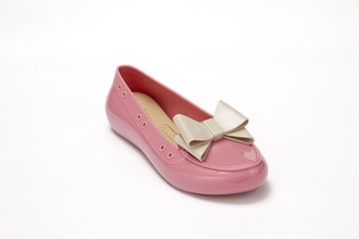 shoes pink jelly jelly shoes fashion girl girls