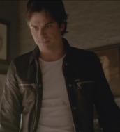 jacket,the vampire diaries,leather jacket,damon salvatore,ian somerhalder,diesel