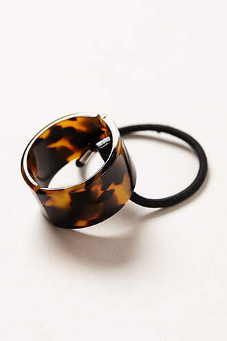 hair accessory tortoise shell hair clip