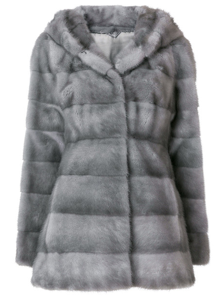Liska jacket fur women grey