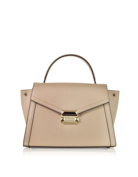 satchel leather light bag