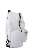 White python backpack