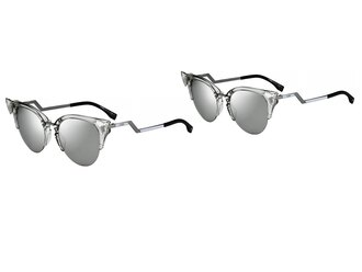 sunglasses fendi eyewear silver