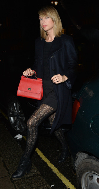 shoes tights taylor swift purse