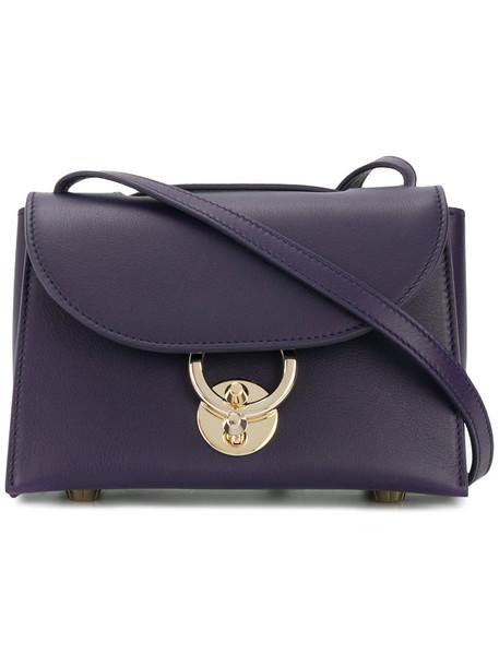 Salvatore Ferragamo women bag crossbody bag leather blue