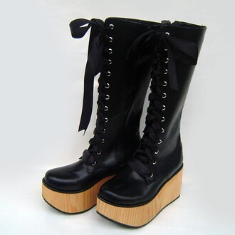 shoes githic boots boots black boots black shoes women shoes online goth gothic lolita lolita shoes lolita gothic boots chunky high heeled ankle boots chelsea boots
