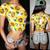Sexy Belly Sunflower Print Bare Midriff Crop Top Tee T Shirt | eBay