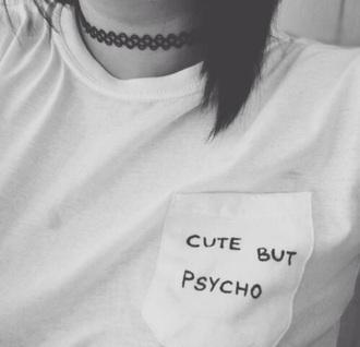 t-shirt grunge psycho emo punk rock rock punk pop punk tee shirt jewels