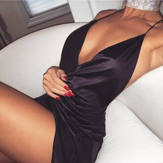 dress black dress black silk