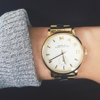 jewels marc gold watch fashion marc by marc jacobs jewelry i need it now