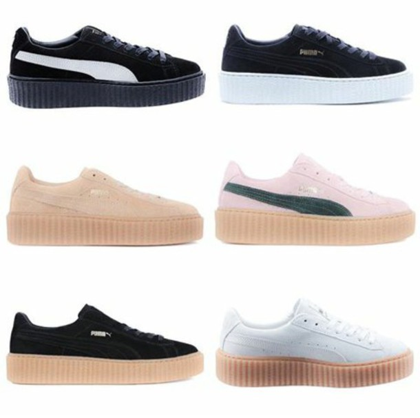 shoes rihanna puma sneakers creepers new realeases fenty fashion dope new  colors coming soon    5028fa3eb