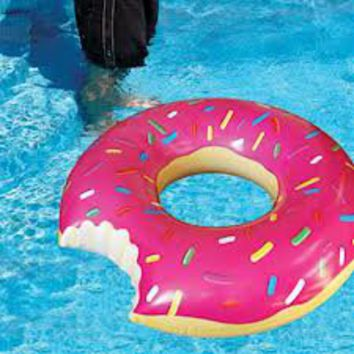 Big Mouth Toys Gigantic Donut Pool Float on Wanelo