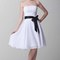 Classic short strapless white belt bridesmaid dresses ksp218 [ksp218] - £80.00 : cheap prom dresses uk, bridesmaid dresses, 2014 prom & evening dresses, look for cheap elegant prom dresses 2014, cocktail gowns, or dresses for special occasions? kissprom.co.uk offers various bridesmaid dresses, evening dress, free shipping to uk etc.
