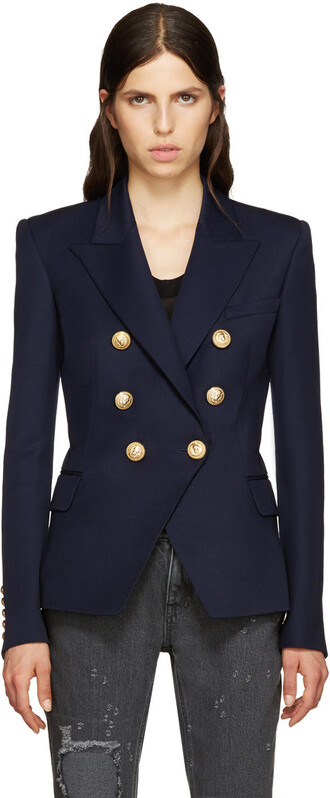 blazer navy jacket