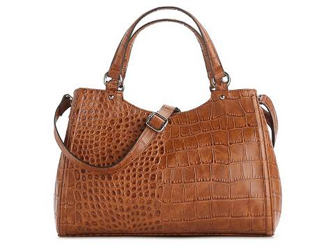 Kelly & Katie Laurel Croc Satchel