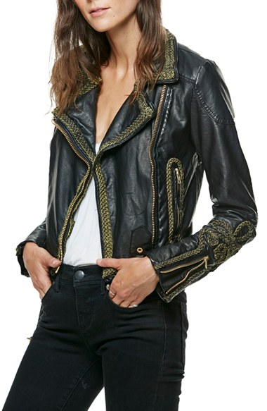bf6ba9c0f3a4a Free People Bang Bang Faux Leather Jacket