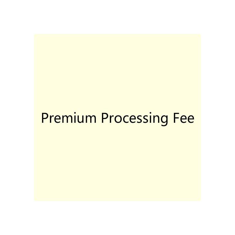 Premium Processing Fee - Charming Bridesmaids Store