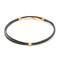 Jennifer zeuner jewelry ivy gia wrap choker necklace - gold/black