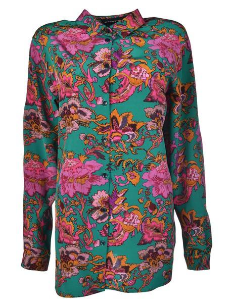 ETRO shirt floral print top