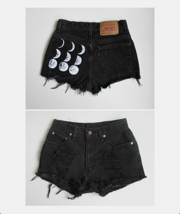 shorts moon phases shorts