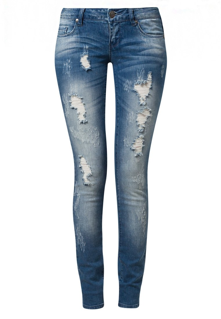 ONLY CORAL - Jeans Slim Fit - denim - Zalando.de
