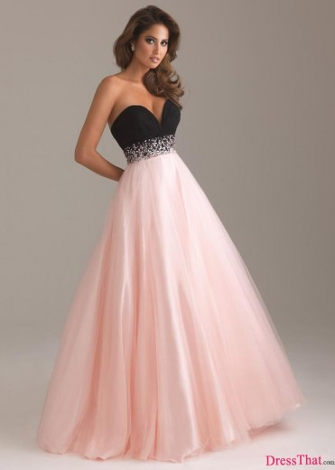 Best Selling Sweetheart Floor-Length A-Line Beadings Zipper-Up Prom Dresses PD-9002