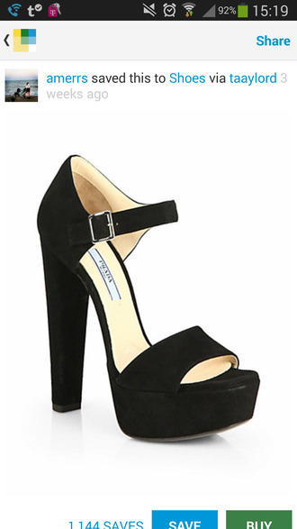 shoes high heels suede shoes mary jane prada