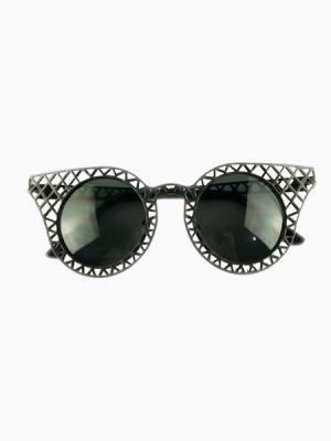 Ridge Hollow Out Cat Eye Sunglasses | Choies