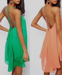 Free shipping 2014 new fashion women Chiffon long dress two pieces Casual dress Bohemian sleeveless dress Plus size   Amazing Shoes UK