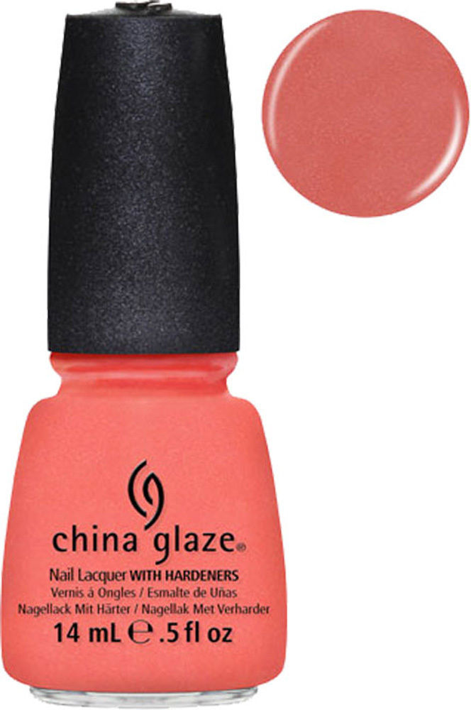 China Glaze Nail Polish Lacquer MIMOSA'S BEFORE MANI'S 0.5 oz, 15ml - 81198