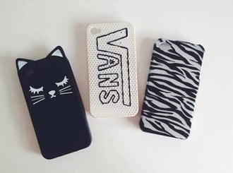 phone cover vans iphone 5s cover cats