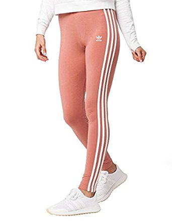 61bd4b9423625 adidas Womens Originals Logo-Striped Leggings#CE8298 at Amazon ...