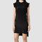 Womens tonya dress (black)   allsaints.com