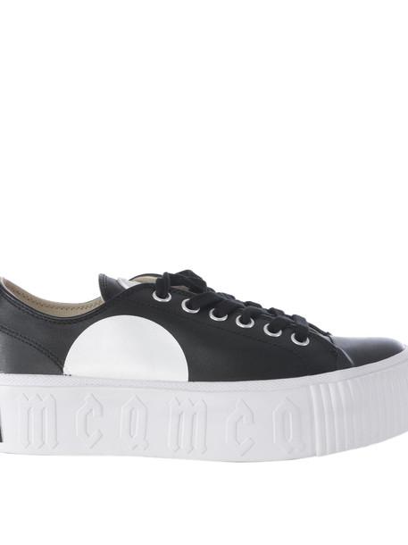 Mcq Alexander Mcqueen Plimsoll Platform Sneakers in nero