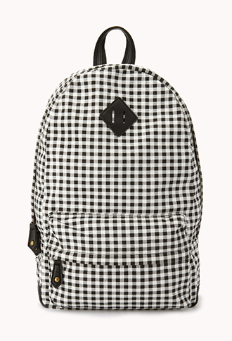 Sweet Gingham Backpack | FOREVER21 - 1000074985