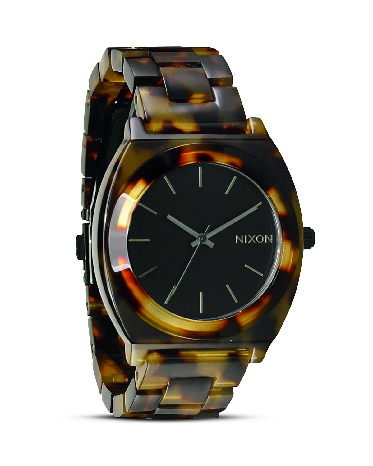 Nixon The Time Teller Acetate Watch, 40mm | Bloomingdale's