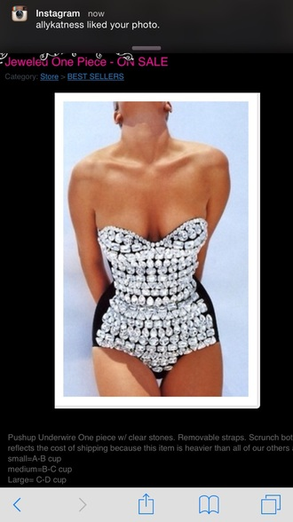 swimwear rhinestones little black dress shiny
